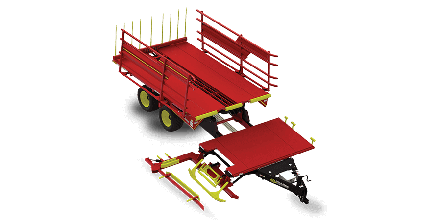Large Square Bale Stackers